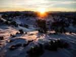 Sonne Hochmiesing Gipfel