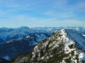 Gipfelbiwak auf demHochmiesing