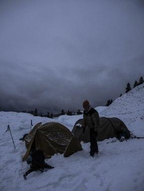 Winterbiwak auf demStaffel