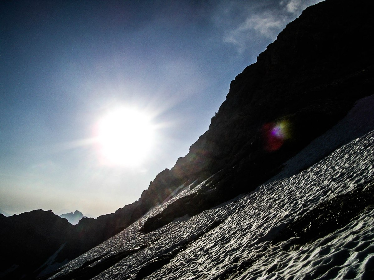 Kurzski-Expedition auf dieBirkkarspitze