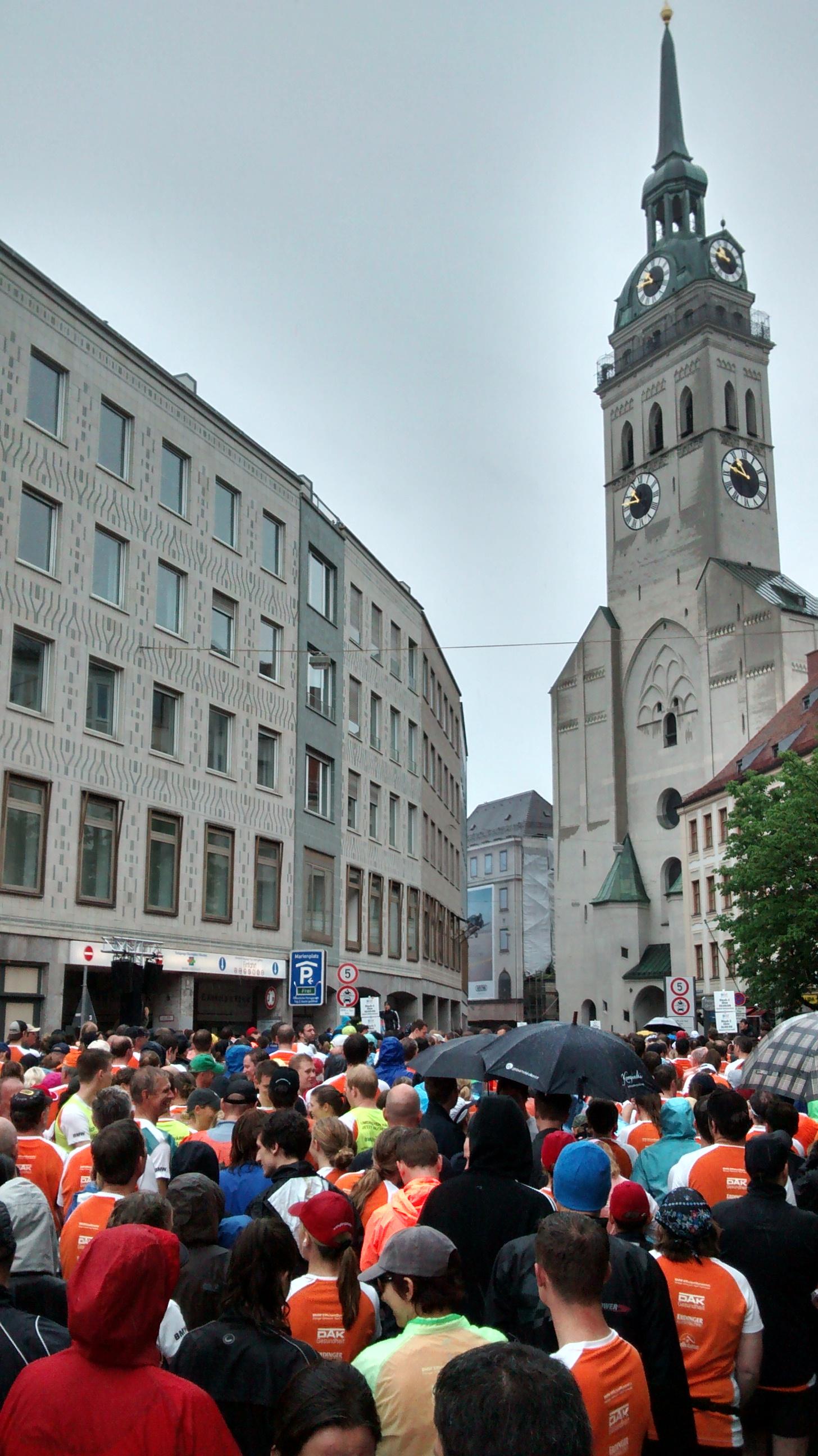 Gscheit was los beim Stadtlauf München