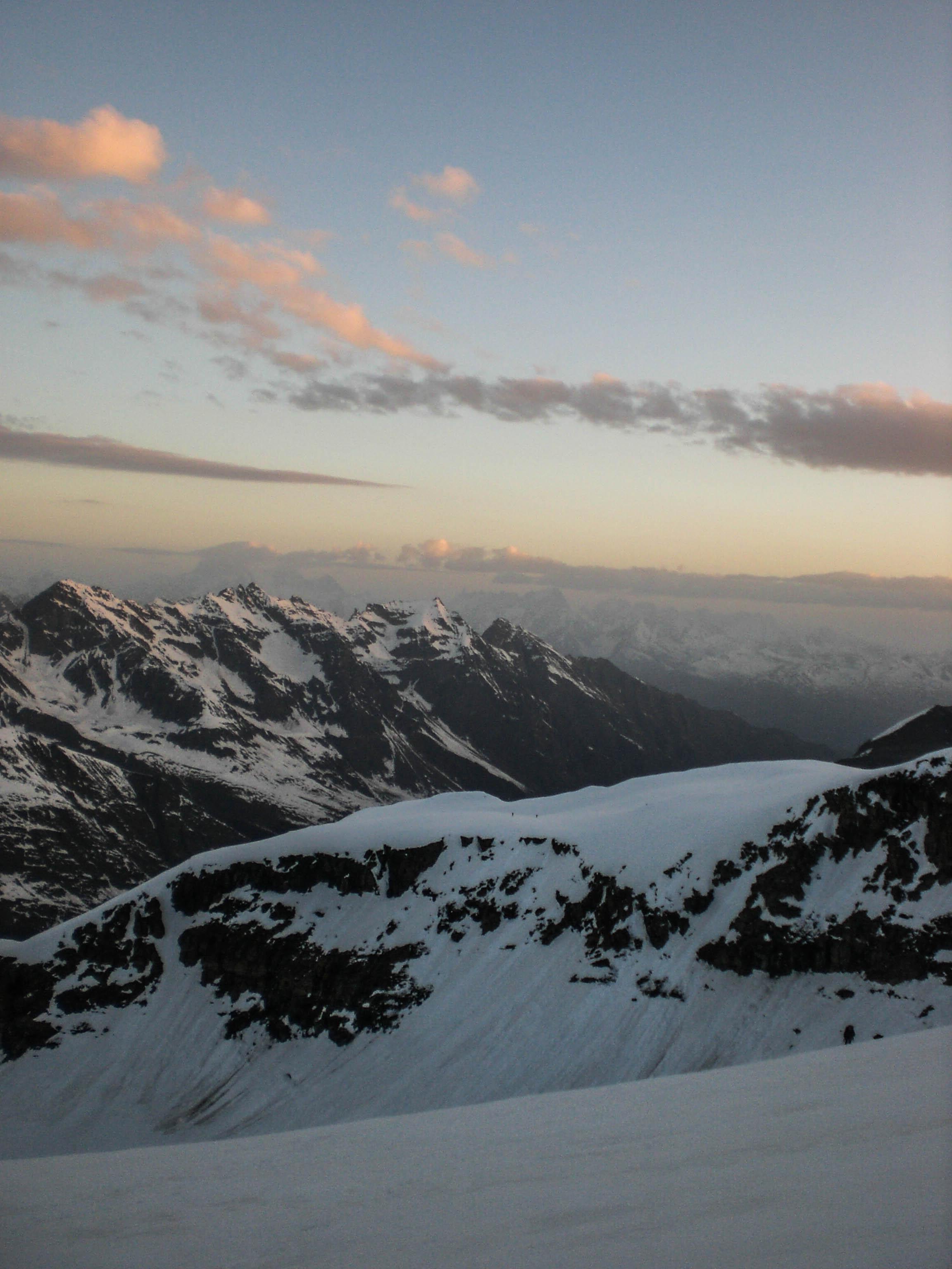 Morgenstimmung auf 3600 Meter