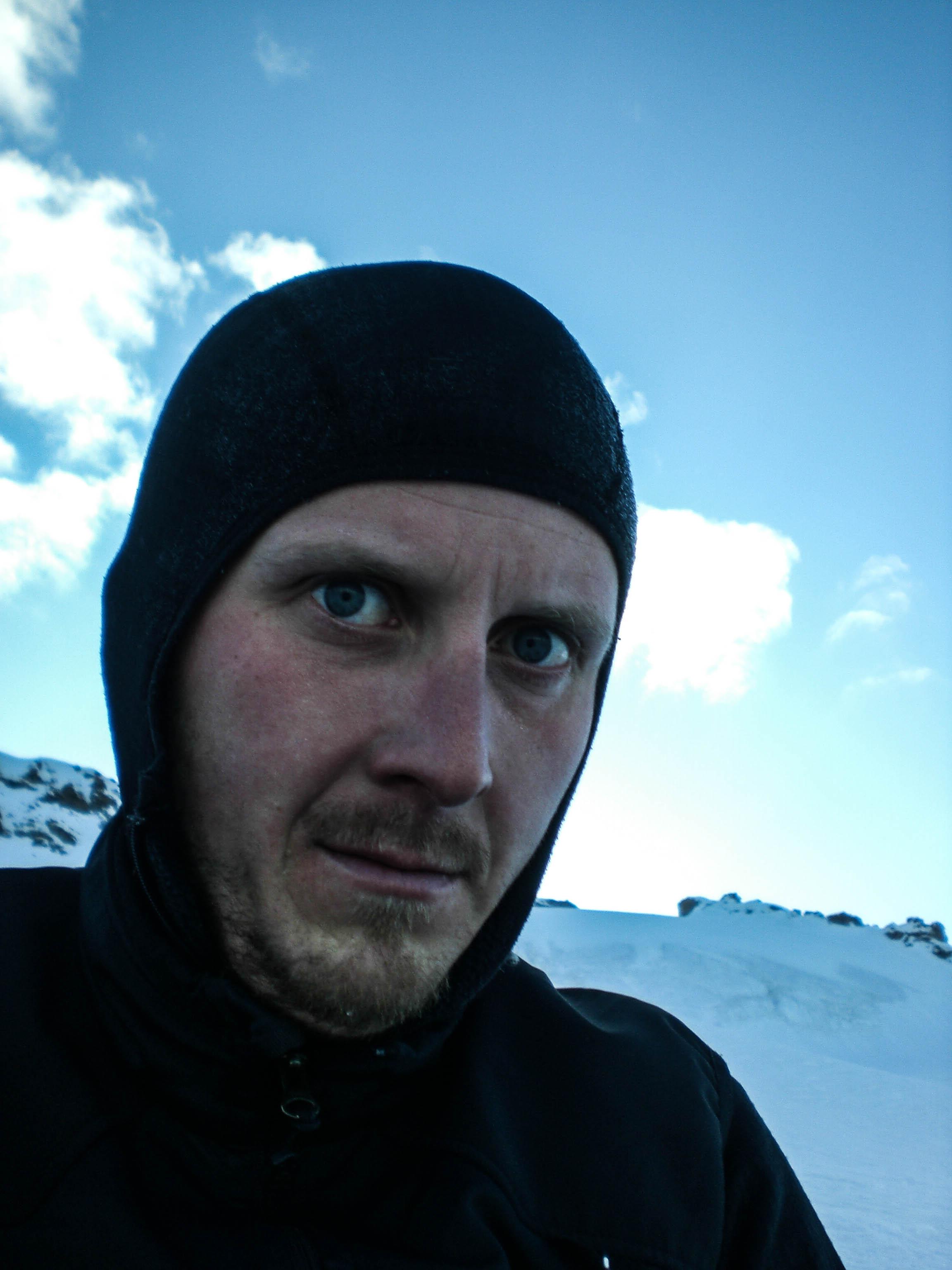 Beim Bergsport ist nicht zu spaßen! ;-)