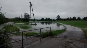 Kirnach bei Hochwasser