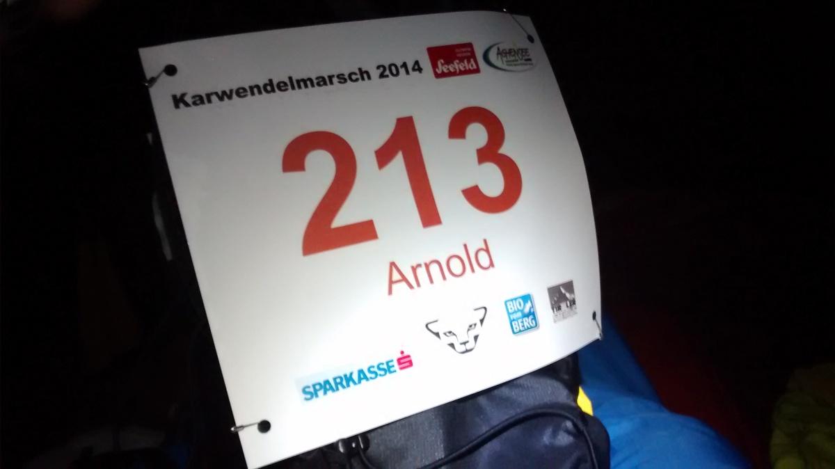 Karwendelmarsch 2014: Nässeallerorten