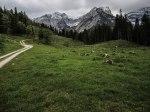 Bettlerkarspitze, Schaufelspitze und Sonnjoch