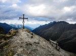 Gipfelkreuz der Mairspitze (2775 m)