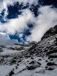 Schneebiger Nock Abstieg