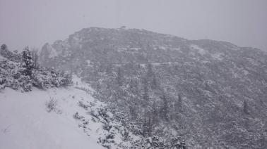 Gipfel in Sicht - der Pavillon am Herzogstand
