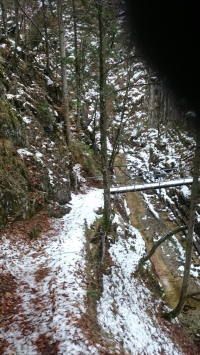 Brücke über den Teufeksgraben