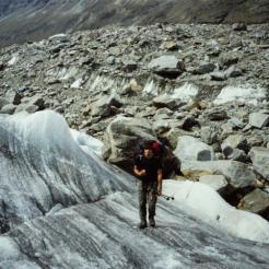 Gletscherquerung