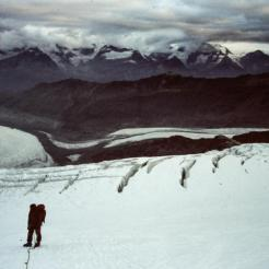 Aufstieg Monte Rosa Gletscher