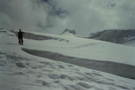 Blick Richtung Gipfelgrat