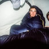 Gemütlich ist's im Zelt
