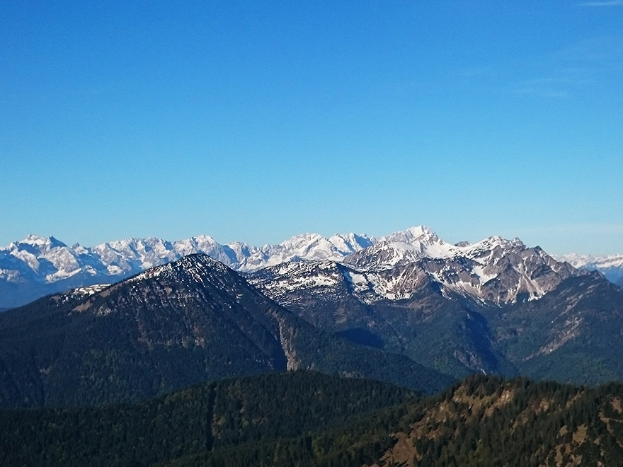 Estergebirge und Zugspitze