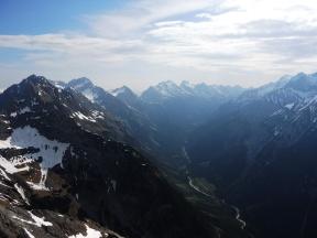 Blick Richtung Karwendeltal