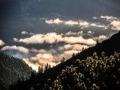 Wolken über dem Isartal