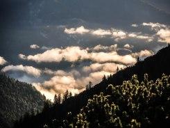 Wolken Isartal