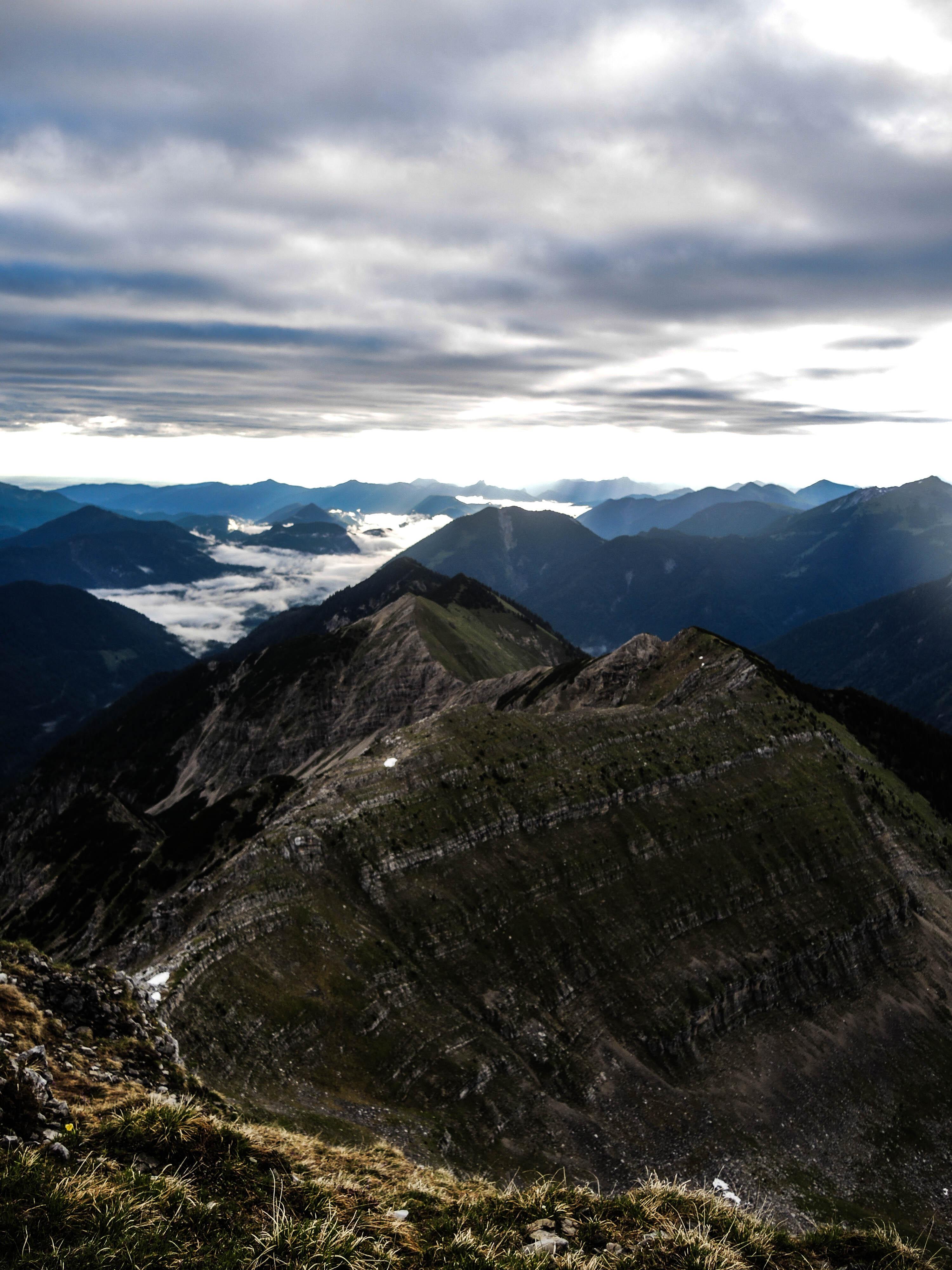 Blick Krapfenkarspitze Osten