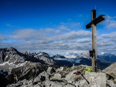 Höhepunkt der Runde: Die 2257 Meter hohe Soiernspitze
