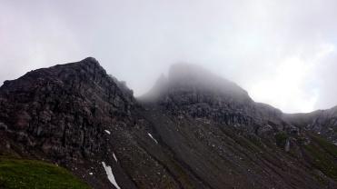 Gipfelaufbau Rappenspitze