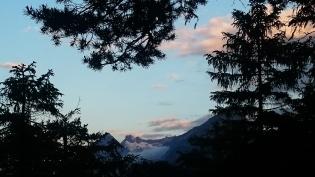 Morgenblick zur Leutascher Dreitorspitze