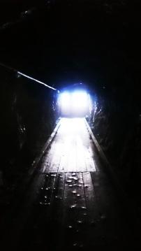 Licht am Ende des Tunnel