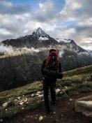 Hoch über Vent - Talleitspitze gegenüber