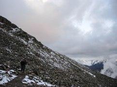 Schneegrenze exakt auf 2800 m