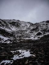 Schneelandschaft am Normalweg