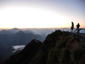 Mehr als fünf Biwaker auf dem Gipfel