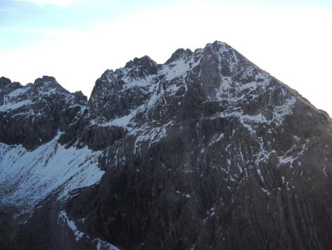 Gipfelaufbau Hohes Licht