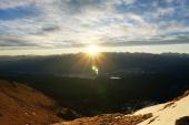 Sonnenaufgang über Krün