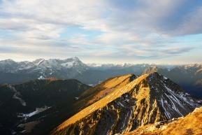 Dezember-Laufrunde im Estergebirge