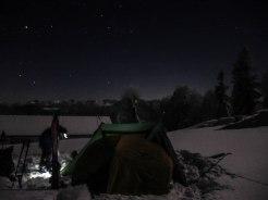 Camp ist áufgebaut