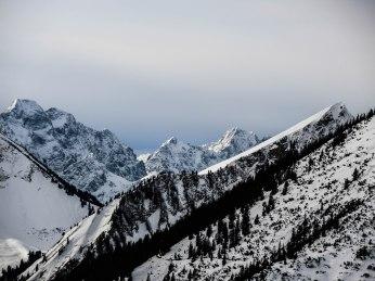Östliche Karwendelspitze, Raffelspitze, Hochkarspitze,Vogelkarspitze,Baumgartenjoch.