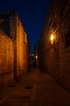 Geheimnisvolle Gassen in der Old Town Jerusalem