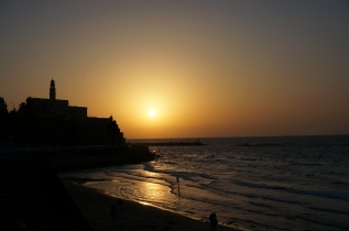 Sonnenuntergang, Jaffa