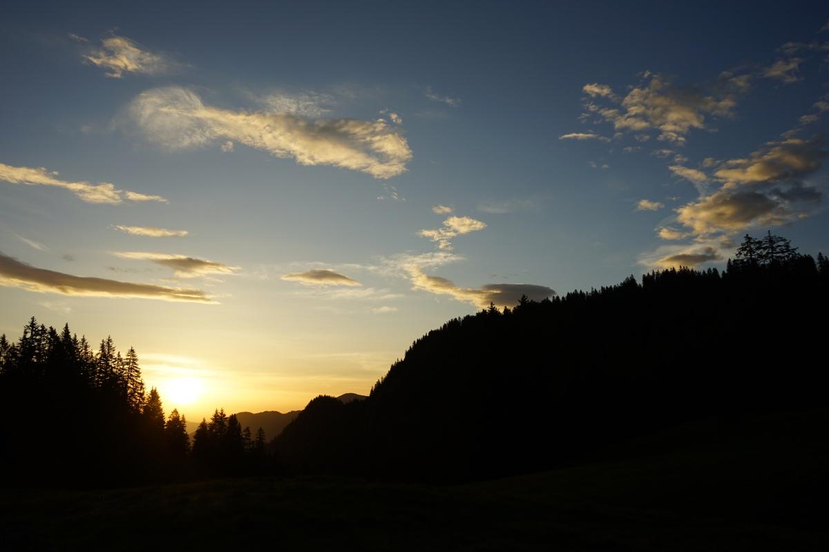 Morgenstimmung im (Vor)Karwendel