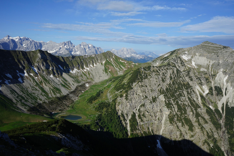 Delpsee Delpsjoch Schafreuter Karwendel