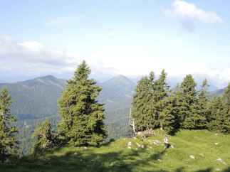 Danny beim Downhill Richtung Jachenau