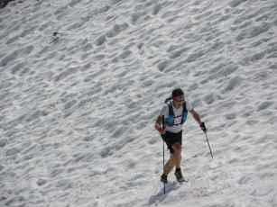 Snowrunning Ende Juni.