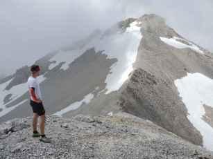 Auf dem Gipfel der Kleinen Seekarspitze.