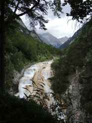 Blick vom Karwendelsteg