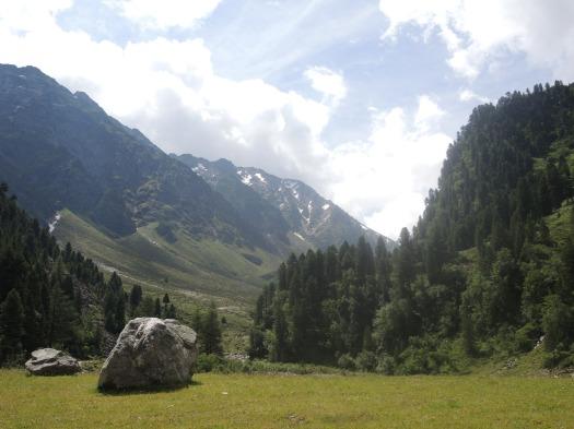 Gleirschtal Stubai Sellrain Nordtirol