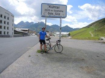 Kühtai - höchster Punkt der Radlstrecke