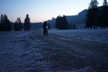 Auf dem Weg ins Längental