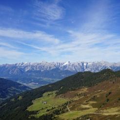 Blick über das Inntal aufs Karwendel